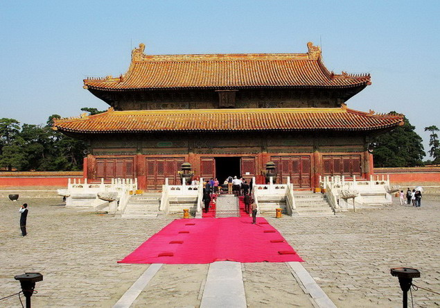 the Western Qing Tombs9