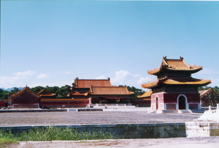 the Western Qing Tombs10